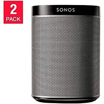 Sonos Play:1 Wi-Fi Speaker 2-Pack - Black