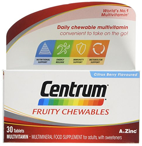 Centrum Fruity Chewables Multivitamin 30 Tablets