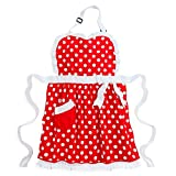 Disney Minnie Mouse Apron for Adults Red