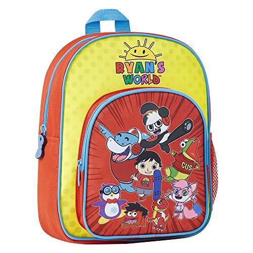 Ryan's World Mochila Escolar Para Niño y Niña, Mochilas Escolares Infantiles, Mochilas Bebe Guarderia, Backpack, Mochila Primaria Niña, Bolso Infantil Niños