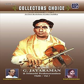 Collectors Choice - Lalgudi G Jayaraman, Vol. 1 (Live)