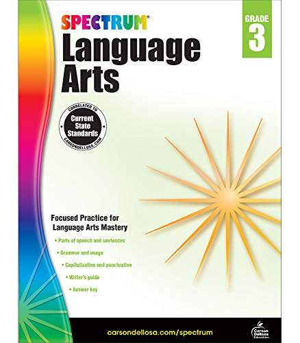 Compare Textbook Prices for Spectrum Grade 3 Language Arts Workbook—3rd Grade State Standards, ELA Writing and Grammar Practice With Writer's Guide and Answer Key for Homeschool or Classroom 176 pgs Workbook Edition ISBN 0044222240011 by Spectrum