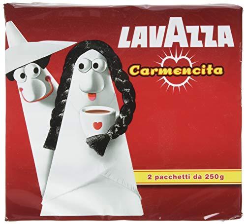 Lavazza Caffè Macinato Carmencita - 10 confezioni da 500 gr [5 Kg]
