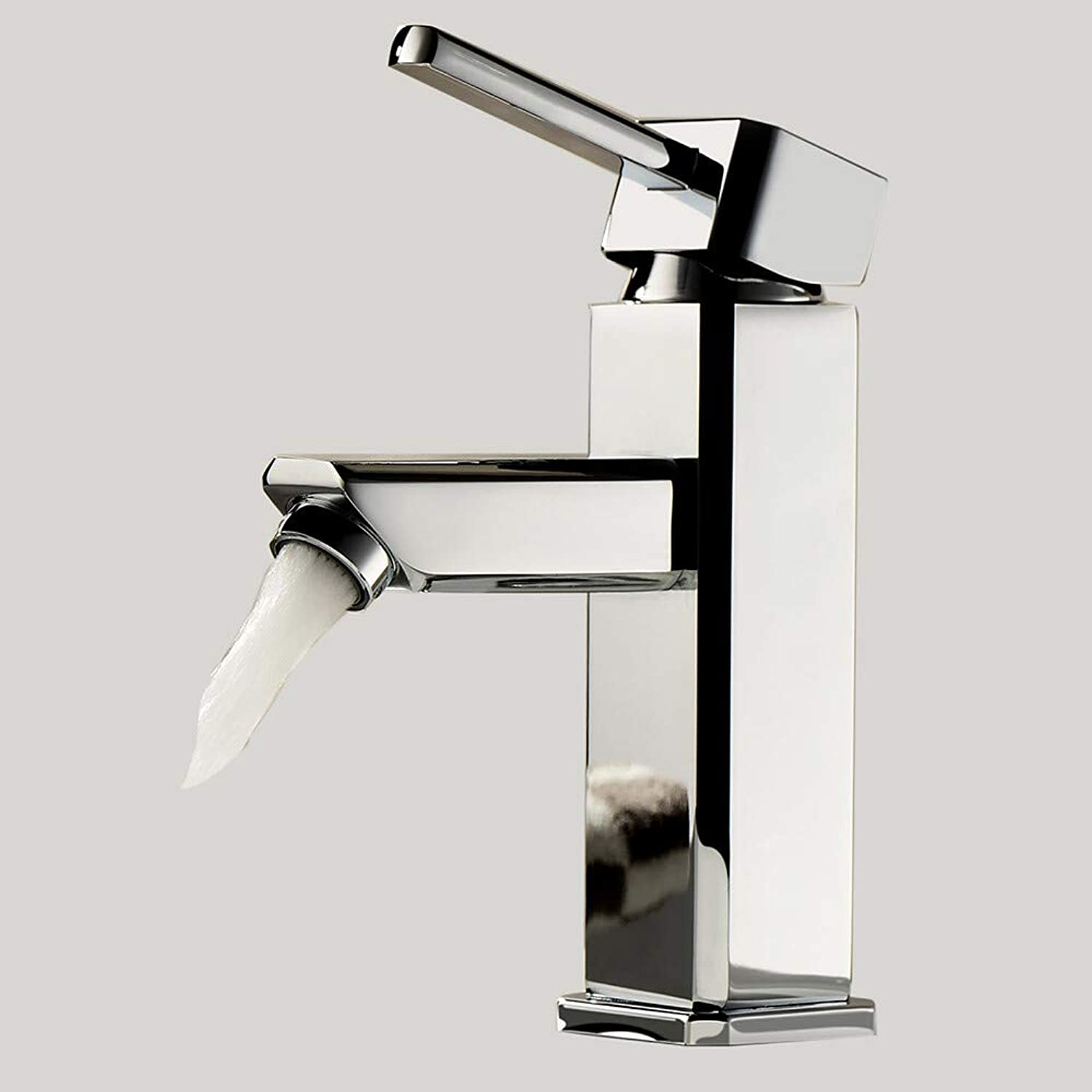 BF-Bathroom Sink Faucet - redatable Chrome Centerset One Hole Single Handle One Hole,1