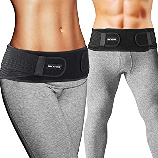 Backtour Si Belt Sacroiliac Belt for Women and Men That Alleviate Sciatic, Pelvic,Lower Back and Leg Pain, Stabilize SI Joint,Breathable Anti-Slip Sacroiliac Hip Brace.