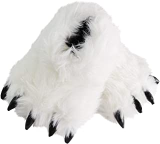 Bear Claw Cute Fluffy Animal Slippers for Women Monster Cosplay