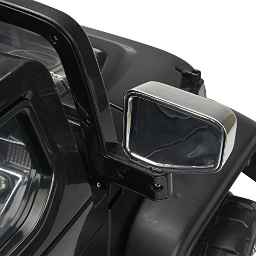 RC Auto kaufen Kinderauto Bild 3: HOMCOM Elektroauto Kinderauto Kinderfahrzeug Kinder Elektro Auto Fahrzeug Spielzeug (Jeep/schwarz)*