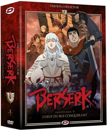 Berserk l'Âge d'or : l'oeuf du Roi conquérant-DVD (Version française) [Édition Collector Limitée et Numérotée]