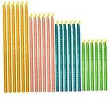 DierCosy Reutilizable del sellador Sticks con Diferentes tamaños, Clips de Alimentos sellador de Bolsas, Accesorios de Almacenamiento de Cocina, 24pcs