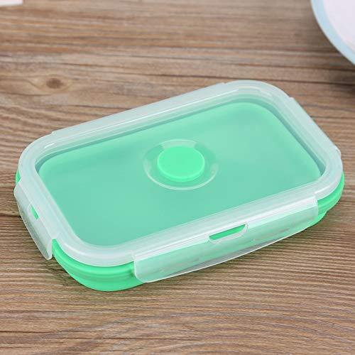 Fiambrera portátil para la escuela para la oficina (verde)