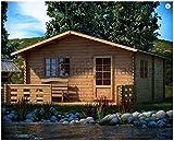 Mondocasette casa caseta de Madera de jardín–Modelo EKO Grosor...