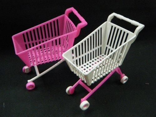 fat-catz-copy-catz 1 x plastikowa lalka, rozmiar mebla, akcesoria na zakupy, wózek (lalka nie wchodzi w zakres dostawy) Made for Barbie