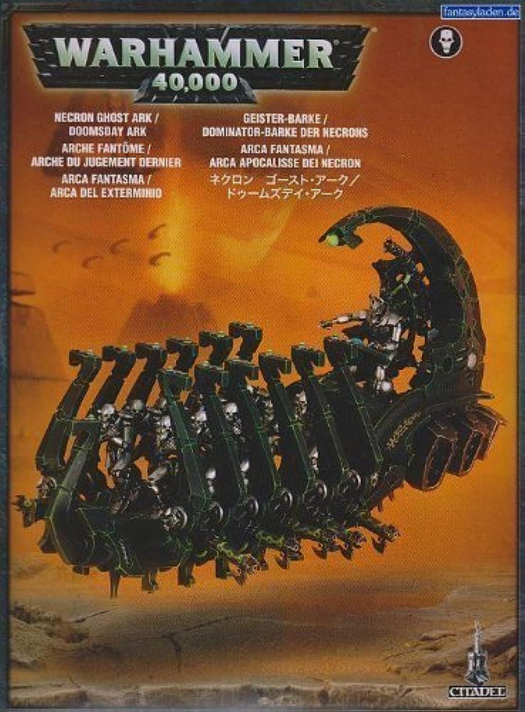 Warhammer 40k  Necrons - Ghost Ark   Doomsday Ark by Games Workshop by Games Workshop B01ASI889S Kompletter Spezifikationsbereich | Verschiedene Arten Und Die Styles
