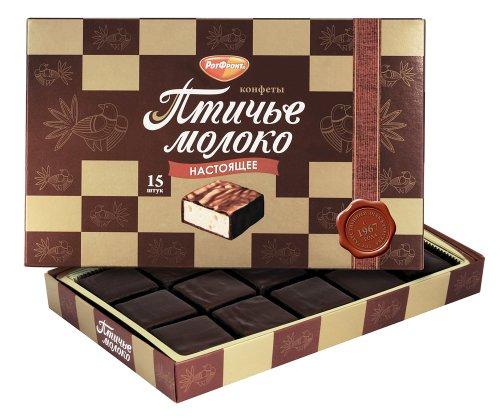 Imported Russian Chocolates 'Ptichye Moloko' 200gr