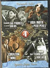 Cuando Los Padres Se Quedan Solos & Corazon De Nino & Una Familia De Tantas & La Vida Inutil De Pito Perez [Ntsc/region 1 and 4 Dvd. Import - Latin America]