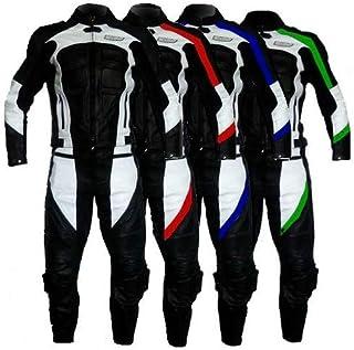 RST Tractech Evo R CE Pantaloni da moto in pelle bianca rossa EU50
