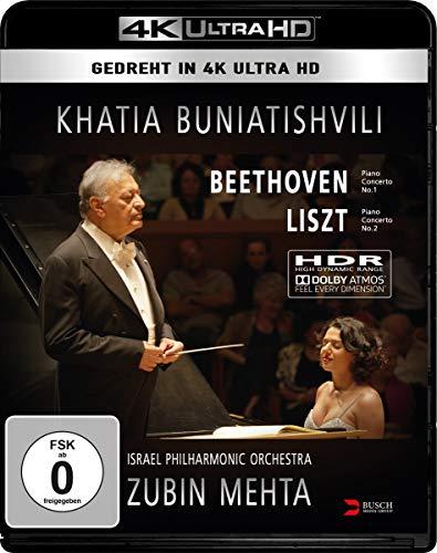 Khatia Buniatishvili & Zubin Mehta: Liszt & Beethoven