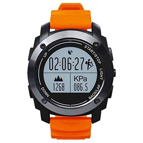 2017New Release GPS Smart sport Watch, all-in-1Bluetooth Smart Watch, IP66resistente all' acqua, supporto per Bluetooth 4.0, attività fitness tracker, pedometro sonno monitor, HD touch screen, chiamata vivavoce per Android 4.3iOS 8.0sopra
