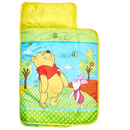 familie24 Disney Winnie Pooh Cosy Wrap 110x72cm Schlafsack Kinderschlafsack Camping Zelten Reisebett