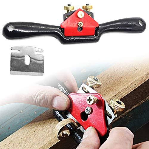 9 Pollici/215mm Regolazione Lavorazione Del Legno Tagliente Piano Spokeshave Hand Trimming Strumento con Vite Manuale Pialla Strumento Mano