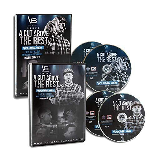 Price comparison product image A Cut Above The Rest Vol. 1 & 2-4-Disc Barber DVD Set