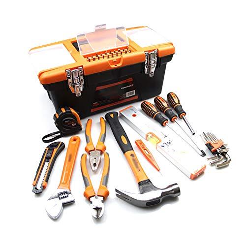 Caja de herramientas del vehículo Kit de herramientas de bricolaje para el hogar Establecer herramientas de mano para todos los propósitos NAPKINDIDORBLE PARA LA REPARACIÓN Y MANTENIMIENTO AUTO DE LA