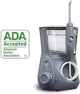 Waterpik 洁碧 ADA认证 WP-667 Aquarius 水牙线 (需配合变压器使用),灰色