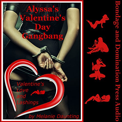 Alyssa's Valentine's Day Gangbang audiobook cover art