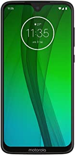 "Motorola Moto G7 (64GB, 4GB RAM) Dual SIM 6.2"" 4G LTE (GSM Only) Factory Unlocked Smartphone International Model XT1962-6 International Version No Warranty"