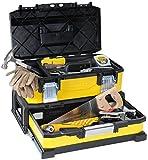Stanley 20' Werkzeugbox Metall-Kunststoff mit integrierter Schublade - 1-95-829 - ohne Werkzeug