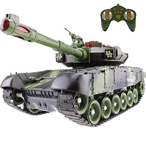 2.4GHz Mini RC-Tank Battleable Off-Road Crawler Type Remote Control Car mit USB-Ladegerät Fernbedienung Panzer Tank für Erwachsene und Kindergeschenke
