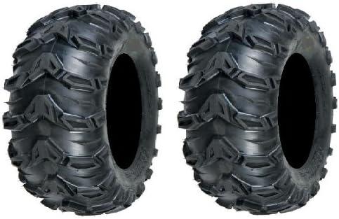 Pair of Sedona Ranking TOP1 Mud Rebel 6ply Max 78% OFF Tires 26x12-12 ATV 2