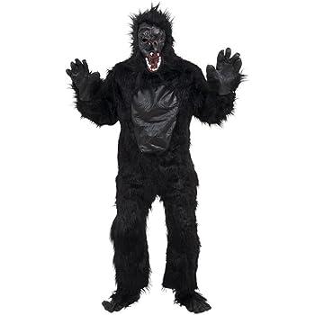 Bristol Novelty AC235 Traje de Gorila con pecho de goma: Amazon.es ...