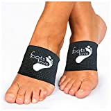 Foots Love- Compression Arch Support Sleeves for Plantar Fasciitis. The Original Nano Sock Copper...