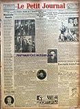 PETIT JOURNAL (LE) [No 24458] du 02/01/1930 - NOUVELLE ANNEE PAR ROSEMONDE GERARD - UNE EPICIERE EST ATTAQUE DANS SA BOUTIQUE A STAINS - LES CEREMONIES OFFICIELLES DU 1ER JANVIER - UN TRAIN TAMPONNE UN AUTOBUS PRES DE BERLIN - DES REFUGIES ITALIENS NOUS PARLENT DE LEURS TROIS COMPATRIOTES ARRETES POUR DETENTION D'EXPLOSIFS - L'ASSASSIN PRESUME DU CHAUFFEUR BAILLY A ETE ARRETE, HIER, APRES-MIDI - LES FRANCAIS ONT BATTU LES ECOSSAIS EN RUGBY PAR MAURICE GRIS - MONTPARNASSE CARREFOUR DU MONDE - LA