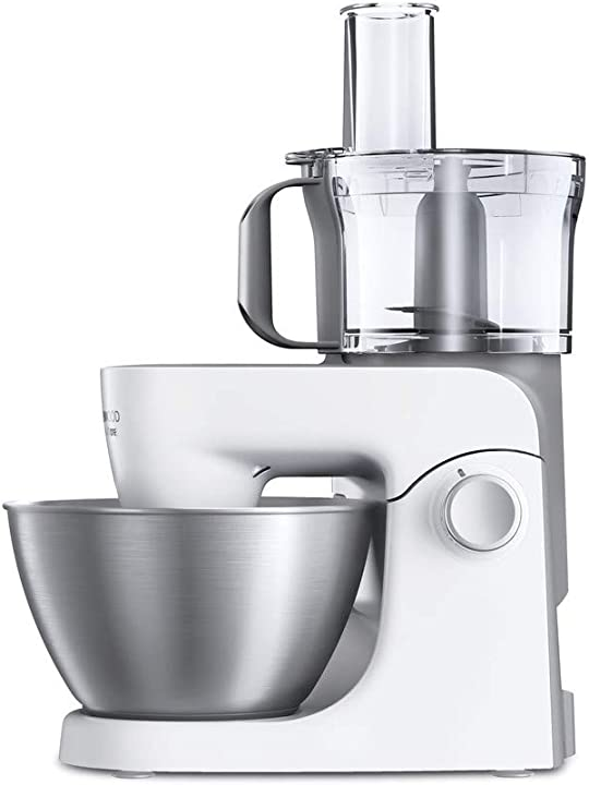 Robot da cucina kenwood khh323wh 1000w 4.3l grigio, bianco