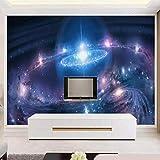 Sternenhimmel Tapete 3d Themenleiste KTV Tapete TV Hintergrund Wand 8d Meteor Blendung Wand Tuch...