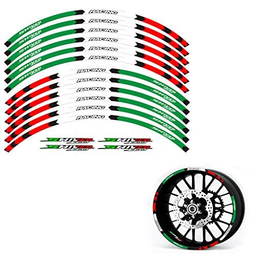 psler Motorrad Felgenrandaufkleber Rim Stripes Aufkleber Für Aprilia SHIVER 750