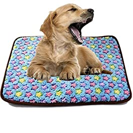 OVsler Vet Bed Cat Mat Puppy Mats Dog Crate Bed Dog Crate Mat Dog Bed Dog Bed Small Fluffy Cat Mat Pet Pad Cat Beds Puppy Bed Washable Dog Bed