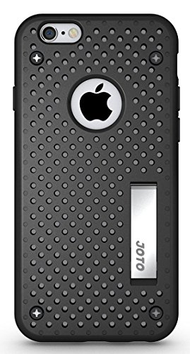 iPhone 6S Case/iPhone 6 Case [ Kickstand Case ] - JOTO Hybrid Dual Layer Armor Cover Case with Kickstand for Apple iPhone 6S 4.7