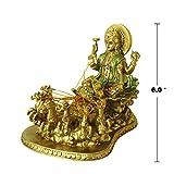 Hindu God Lord Surya Statue - India Home Temple Mandir Puja Idol Murti Pooja Item - Indian Diwali Holi Item Religious Handicraft Figurine