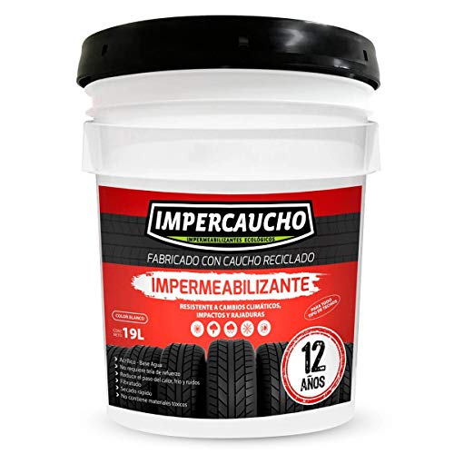 Impercaucho Impermeabilizante 12 Años 19 Lts Terracota