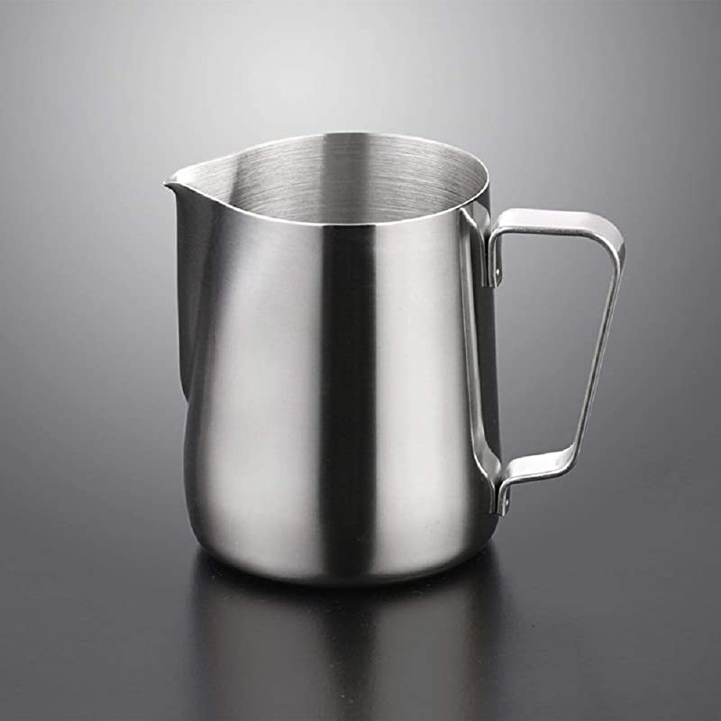 Demarkt Stainless Steel Coffee Milk Frothing Pitcher Steaming Frothing Pitcher 150ml