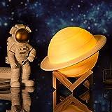 Lampe d'impression Saturne 3d,...