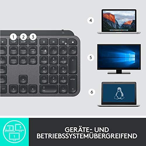 Logitech MX Keys (Beste Tastatur zum Schreiben) - 9