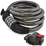 Aduro Sport Bike Lock Cable,...