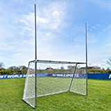 Forza Steel42 Football/Soccer Combination Goals | Metal Multi-Sport Goals [3 Sizes] | Football Goal & Soccer Goal 2-in-1 | Soccer Training & Football Practice Equipment (8ft x 5ft)