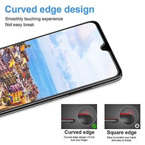 CRXOOX [3 Stück] Panzerglas Schutzfolie für Huawei Mate 20, [Anti-Kratzer/Anti-Öl] [Einfache Installation] [Blasenfrei] [3D Touch Kompatibel/9H Härte] - für Huawei Mate 20 - Transparent - 4