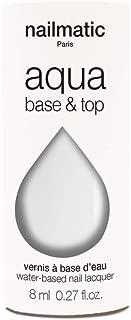 Nailmatic Aqua Nail Water-Based Nail Polish - Base & Top Coat by Until