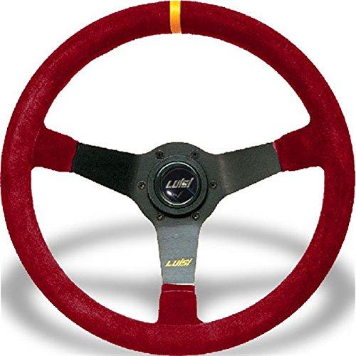Volant Universel Luisi Mirage course 350 mm en daim rouge